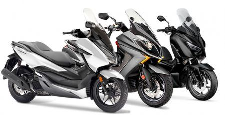 Comparativa Scooters 125